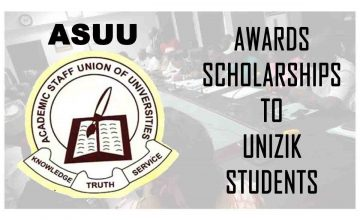 ASUU Scholarship Award Application