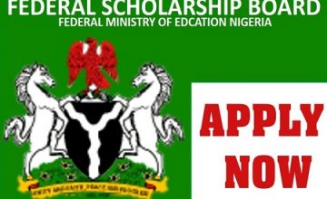 Federal Govt Scholarship for HND and NCE