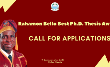 IADS Rahamon Bello Scholarship Award for Best Ph.D. Thesis in African and Diaspora Studies